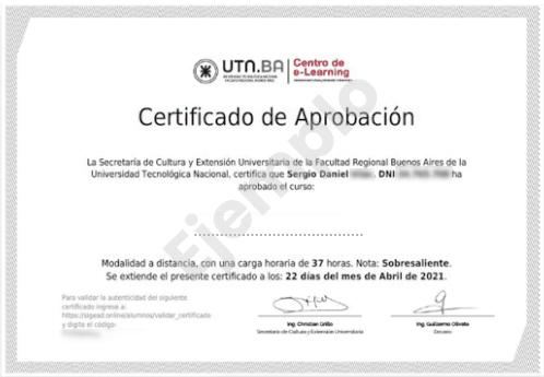 Certificado-UTN